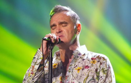 Morrissey all'auditorium della Hollywood High School di Los Angeles - Foto di Scott Uchida