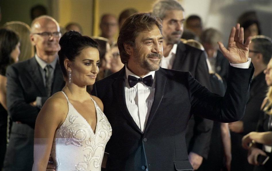 Penelope Cruz e Javier Bardem a Venezia 74. Credit: Leonardo Cestari