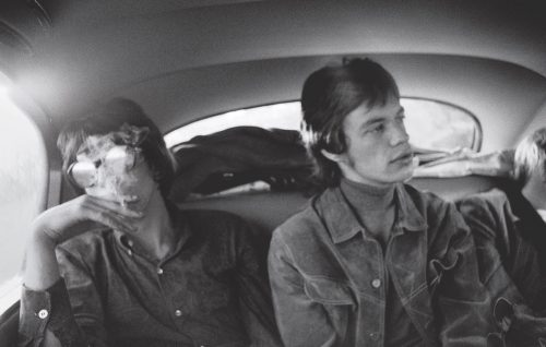 Jagger e Richards in tour nel 1965. Foto: Michael Cooper Collection