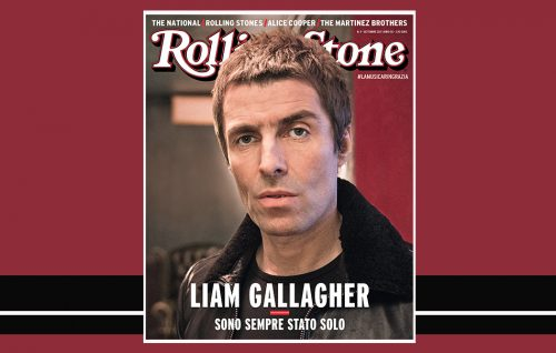Liam Gallagher in copertina su Rolling Stone