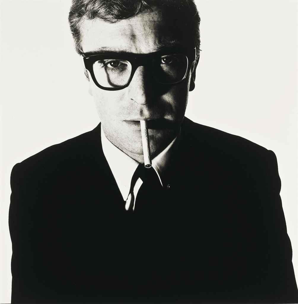 Michael Caine forografato da David Bailey (1965)