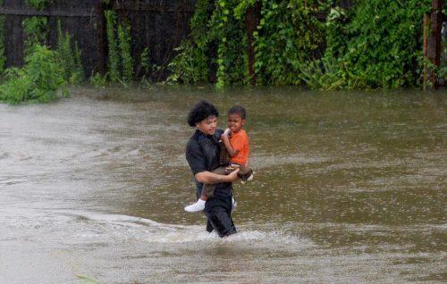houston, harvey, disastro, climate change uragano alluvione