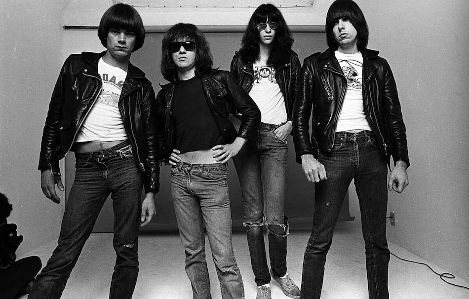 I Ramones, uno dei simboli della New York del 1977