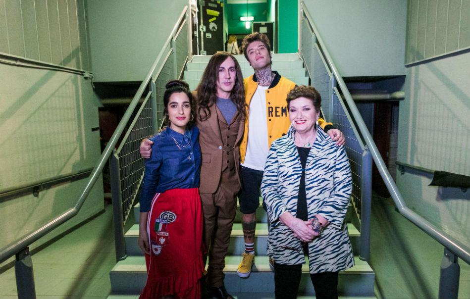 Levante, Manuel Agnelli, Fedez e Mara Maionchi sono i giudici della 11ma edizione di X Factor - Foto Stampa