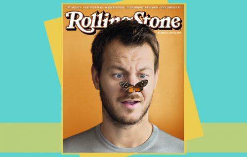 Alessandro Cattelan è in copertina su Rolling Stone