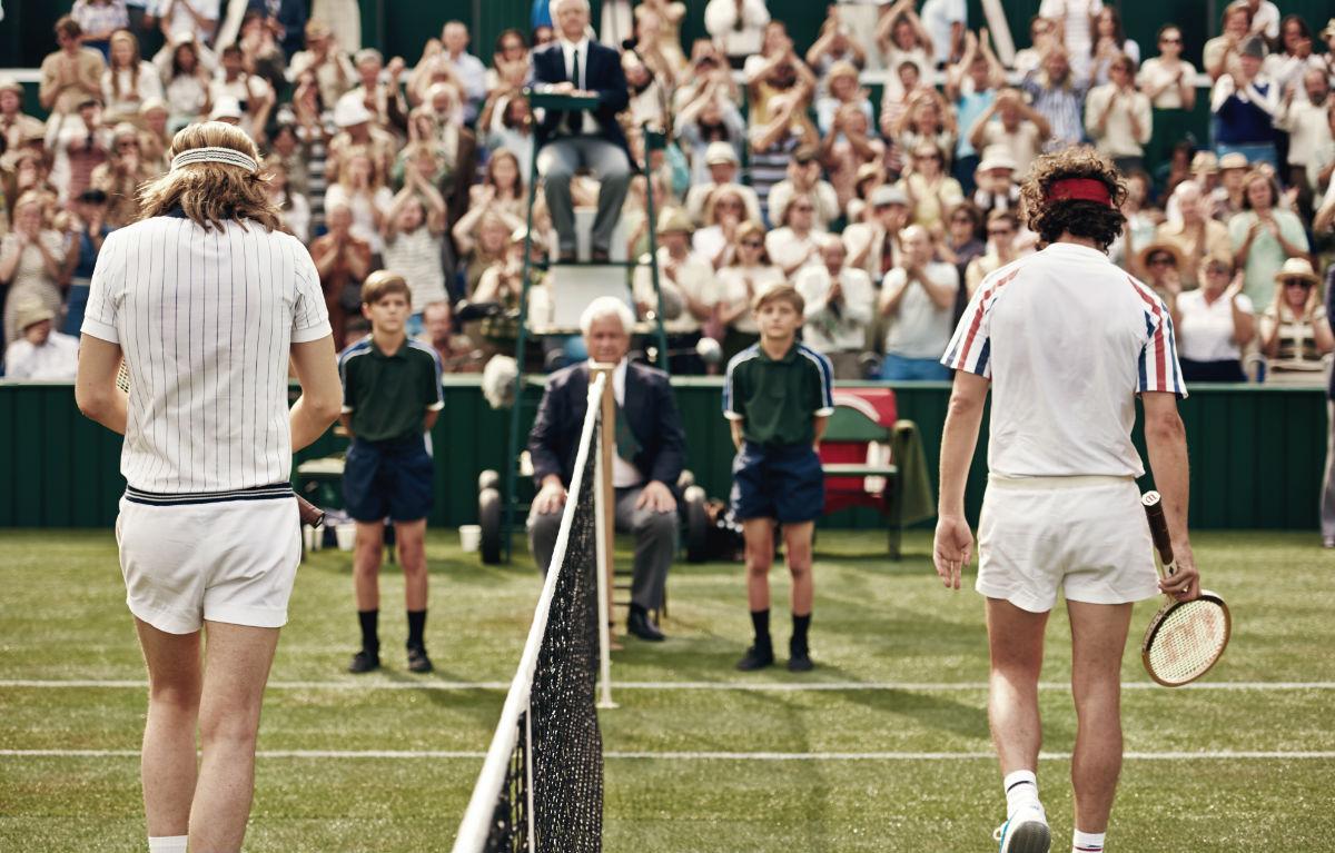 Borg McEnroe, rabbia e tennis a confronto