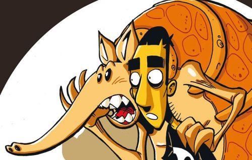 """""""La profezia dell'armadillo"""" è il primo libro a fumetti realizzato dal fumettista Zerocalcare, pubblicato nel 2011."""