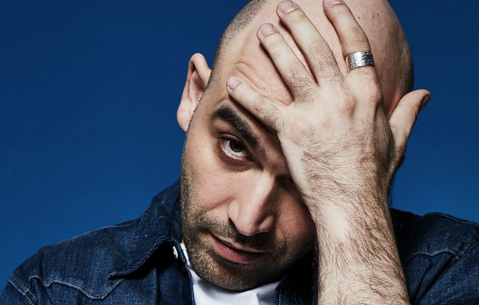 Roberto Saviano. Foto: Mattia Zoppellaro