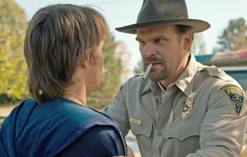 'Stranger Things 2', David Harbour: «Mi tocca fare lo zio brontolone dei ragazzi»