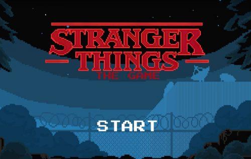 'Stranger Things' diventa un videogame (in pixel art)