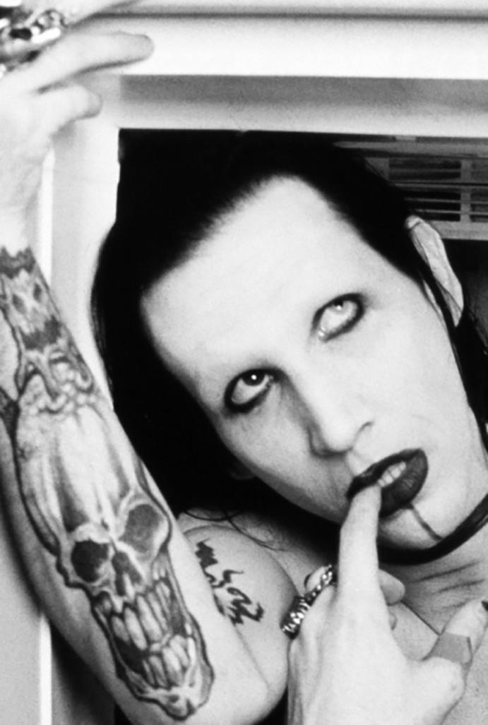 Marilyn Manson, foto Giles Duley