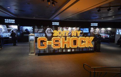 La storia d'amore tra G-Shock e New York