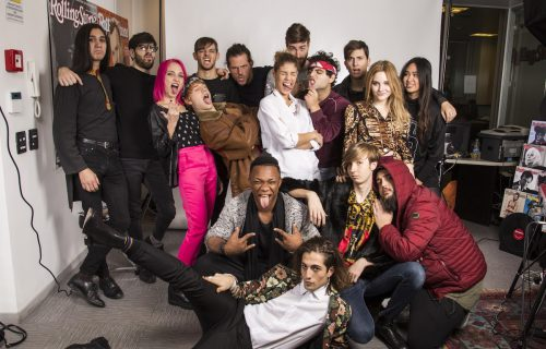 X Factor, il video backstage a Rolling Stone