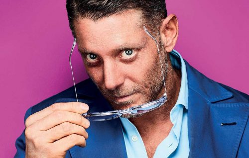 Lapo Elkann, il video backstage di Rolling Stone