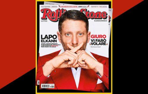 Lapo Elkann sulla cover di novembre di Rolling Stone. Foto Giovanni Gastel