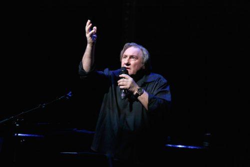 Depardieu: «L'unico film che mi interessa è la vita»