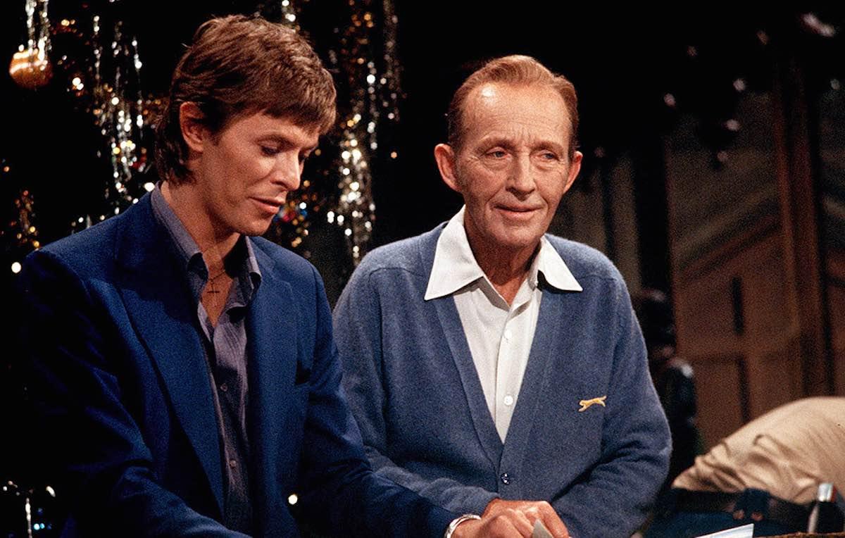 Bing Crosby e David Bowie