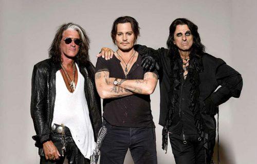 Johnny Depp e gli Hollywood Vampires si esibiranno anche nella Capitale