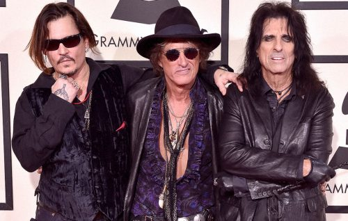 Johnny Depp e gli Hollywood Vampires arrivano in Italia