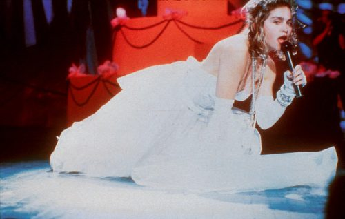Madonna on the floor