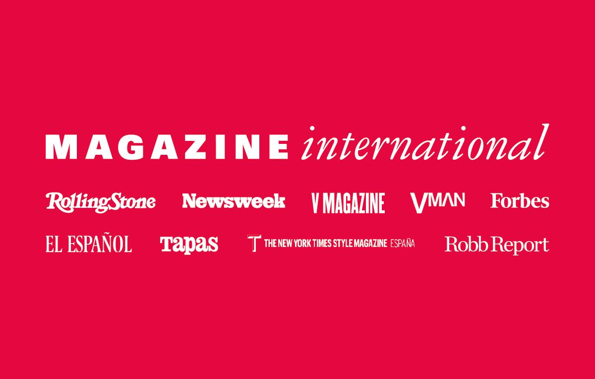 Magazine international cerca venditori di pubblicità