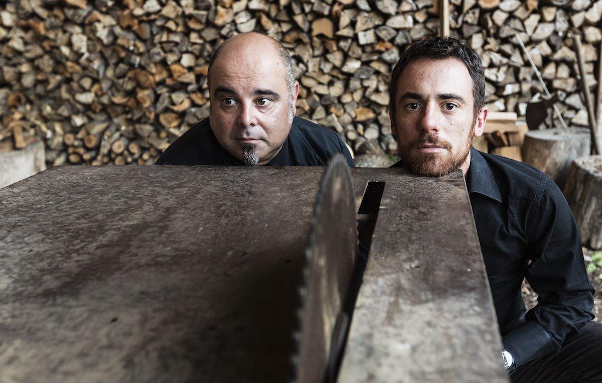 Teho Teardo e Elio Germano. Foto Elia Falaschi