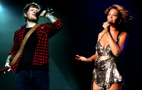 Ed Sheeran canta con Beyoncé in 'Perfect'