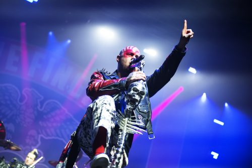 Five Finger Death Punch + In Flames a Padova, tutte le foto