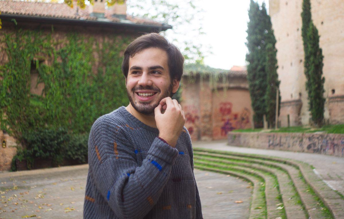 Maiole è del 1995, nato a Santa Maria Capua a Vetere, vive Bologna e studia economia. Foto: Lucia Lercker e Giorgia Salerno