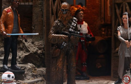 'Star Wars' passa prima dal presepe Made in Napoli