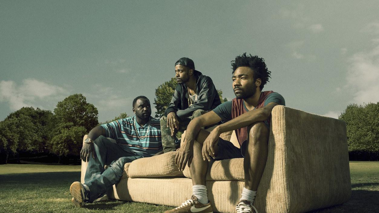 """I tre protagonisti di """"Atlanta"""""""