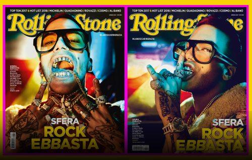 Rolling Stone mette in copertina il futuro con Sfera Ebbasta