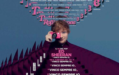 Ed Sheeran sul nuovo numero di Rolling Stone