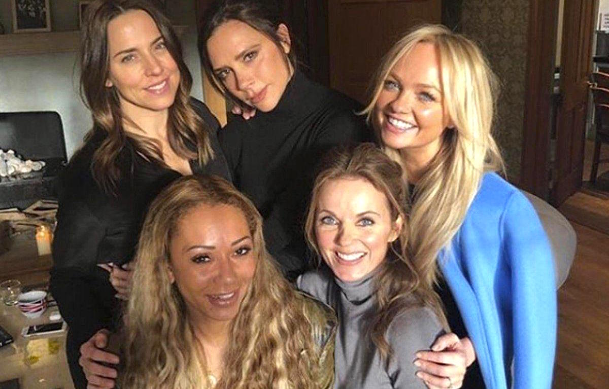 Le Spice Girls annunciano in un video su Facebook il nuovo tour