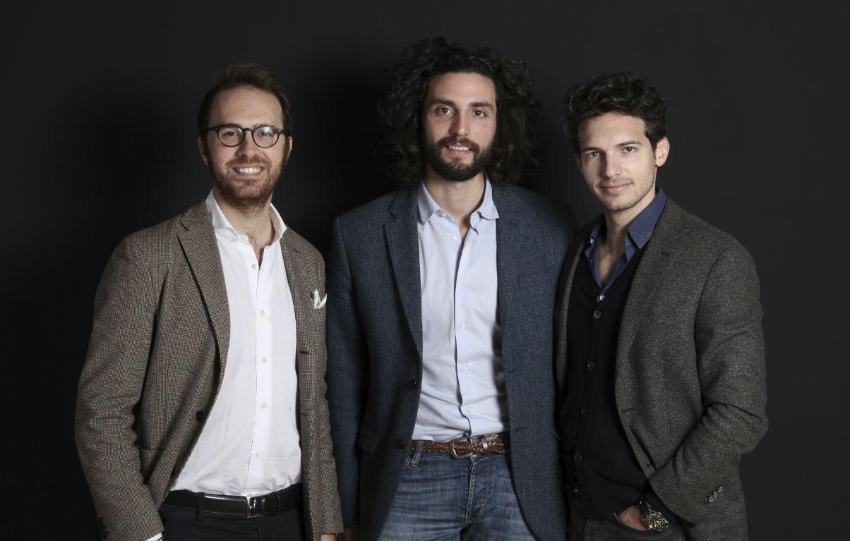 Riccardo Pozzoli con i suoi soci di Foorban Stefano Cavaleri e Marco Mottolese