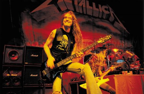 Cliff Burton. Fonte: Facebook
