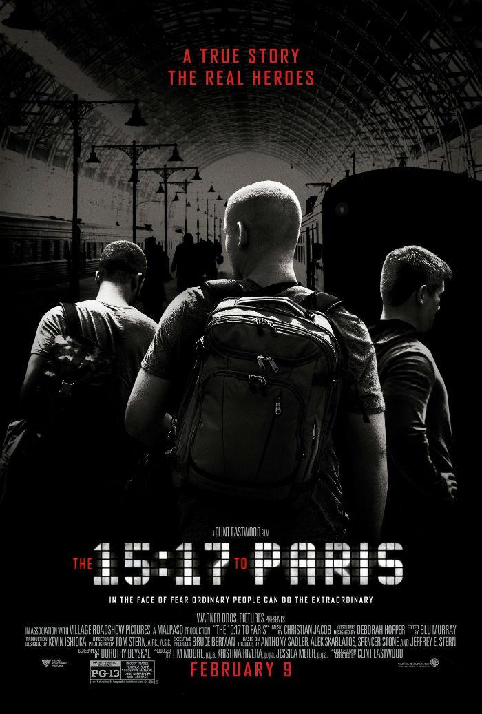 Ore 15:17 – Attacco al treno - Clint Eastwood