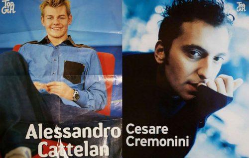 Alessandro Cattelan e Cesare Cremonini tornano teen idol su Twitter