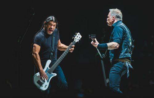 I Metallica al PalaAlpitour di Torino. Foto IPA