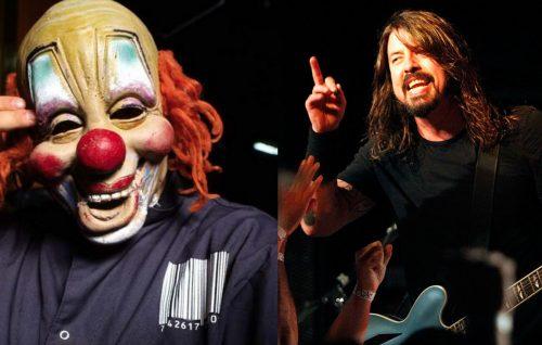 È giusto che gli Slipknot non vogliano suonare coi Foo Fighters? Ni