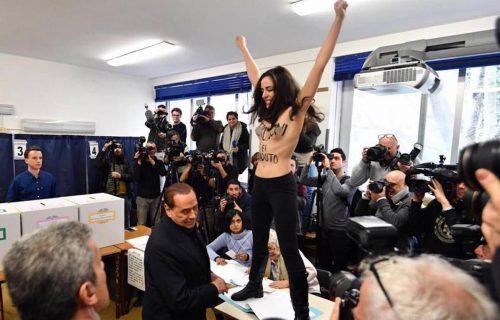 Femen: «Salvini, il prossimo potresti essere tu»