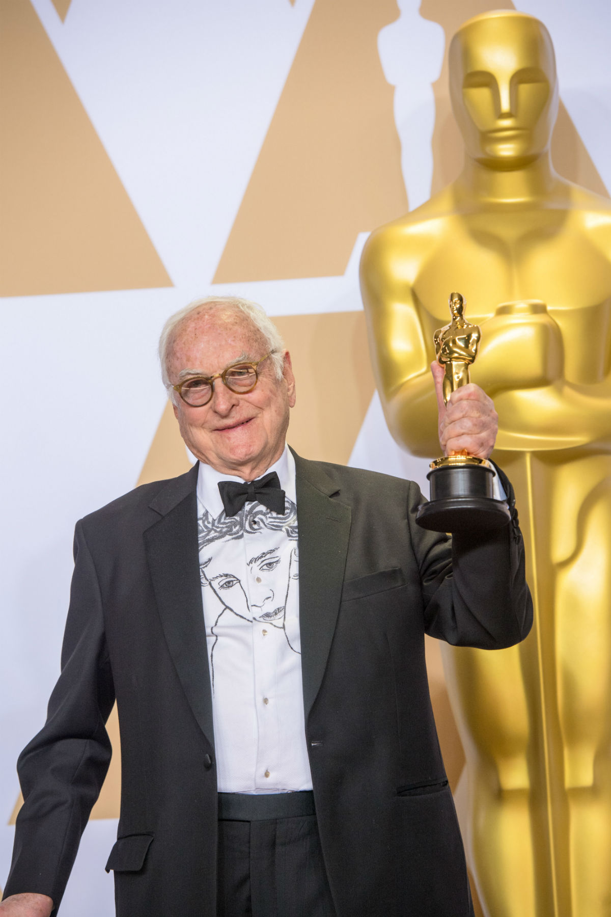 James Ivory. Credit: Michael Baker / A.M.P.A.S.