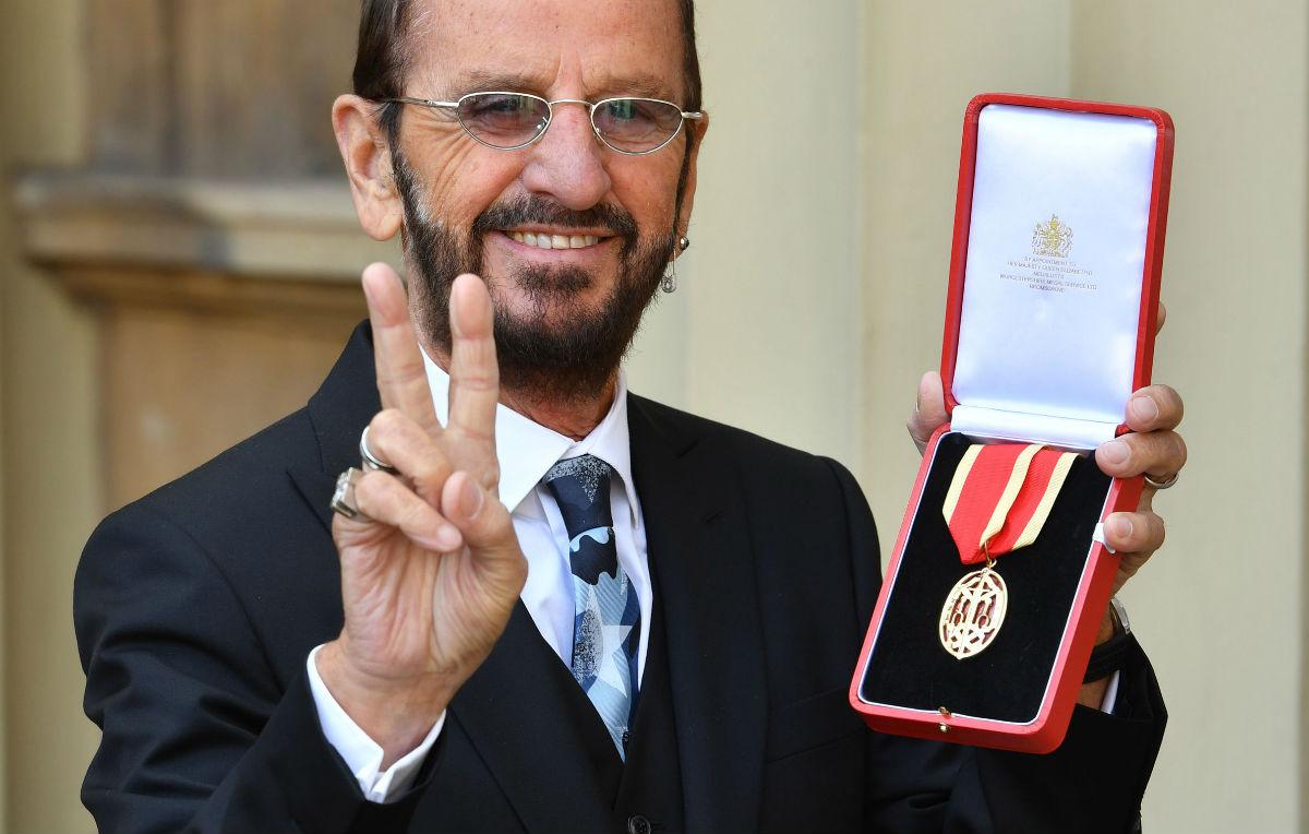 Sir Ringo Starr fa il bis a Buckingham Palace
