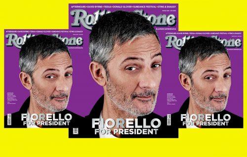 Fiorello 'for President' sulla copertina di Rolling Stone