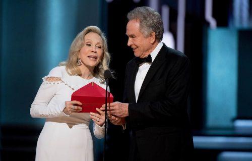 Oscar, Faye Dunaway e Warren Beatty premieranno (di nuovo) il miglior film