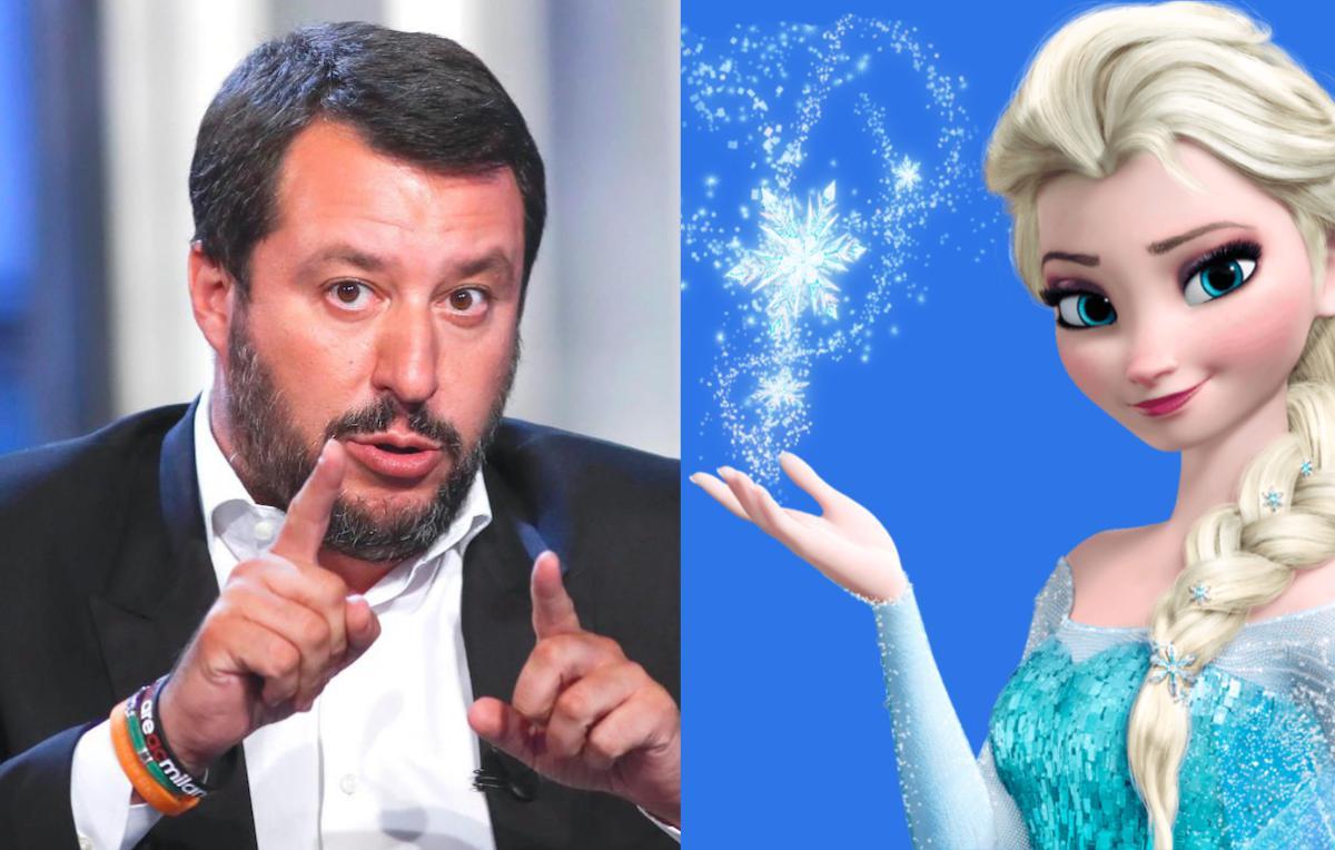 No Salvini Tu Di Elsa E Frozen Non Sai Un Bel Niente Rolling