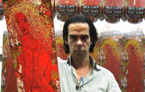 Nick Cave e la passione per lo skateboard
