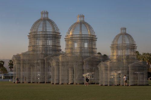 Etherea, l'opera di Edoardo Tresoldi pensata per Coachella 2018 - Foto di Roberto Conte