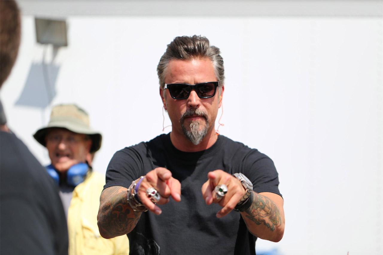 "Richard Rawlings, protagonista dello show americano ""Fast N' Loud"" - Foto Stampa"