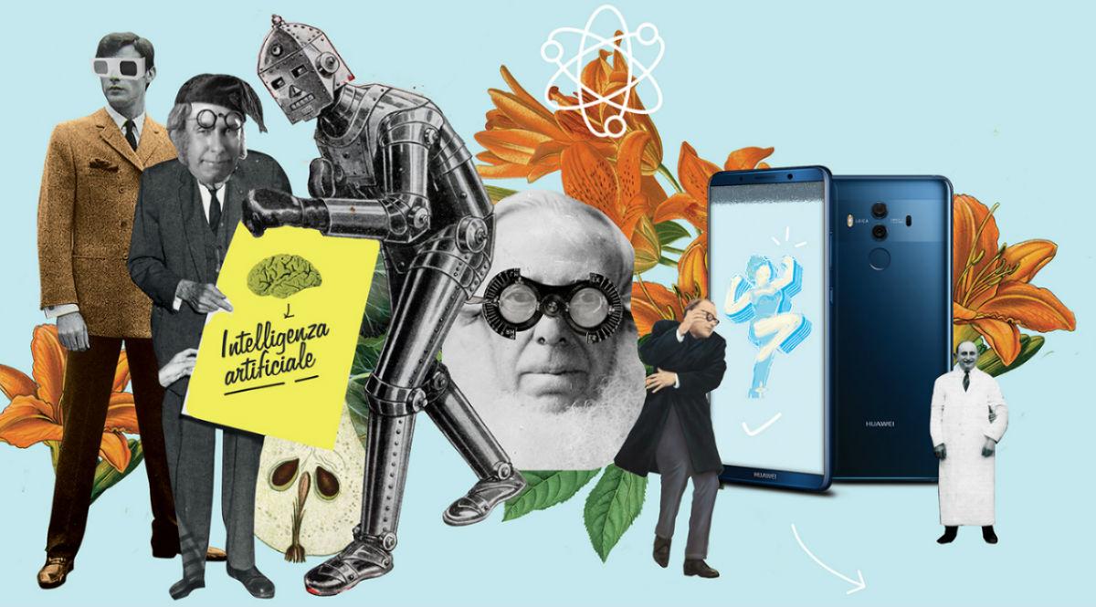 """Artwork di Davide Parere: «Ogni volta che lavoro a un nuovo collage, specialmente quando è coinvolto un brand, mi chiedo come userei il prodotto o cosa questo rappresenti per me. Questa volta ho lasciato che fosse il caos a rispondere per me, dando vita a un mondo nuovo. Una """"prova prodotto"""" autogenerativa e surreale. Questo è il risultato»."""